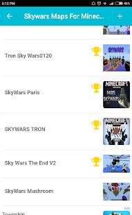 Skywars Maps For Minecraft PE - náhled