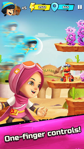 BoBoiBoy Galaxy Run: Fight Aliens to Defend Earth! 1.0.5d screenshots 2