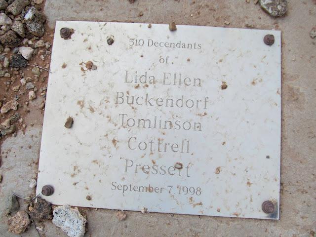 510 descendants of Lida Ellen Buckendorf Tomlinson Cottrell Pressett