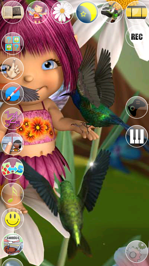 Talking Mary the Baby Fairy- screenshot