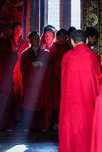 Photo: Monks at Trongsa Dzong. Paro, Bhutan