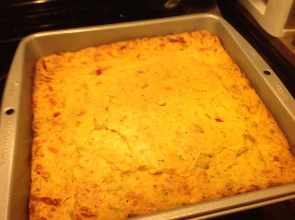 This is the Corn Bread I served with it. Recipe is from a Watkins...