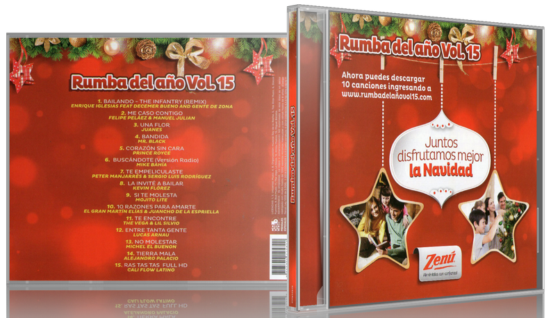 Varios Artistas - Rumba Del Año Vol. 15 (2014) [MP3 @320 Kbps]