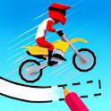 Draw & Ride: Moto Track icon