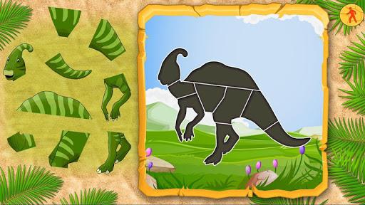 恐龍寶寶拼圖