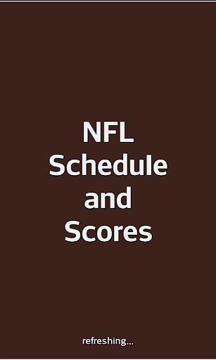 Football 2018 NFL Schedule & Scores 2017.06.03.1 screenshots 1