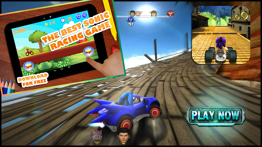 Sonic race game download