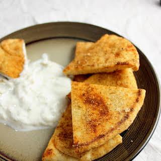 Homemade Pita Chips.