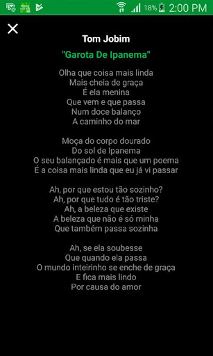 Bossa Nova Music 1.1 screenshots 2