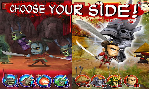 SAMURAI vs ZOMBIES DEFENSE screenshot 2