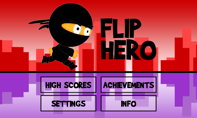 android Flip Hero Screenshot 1