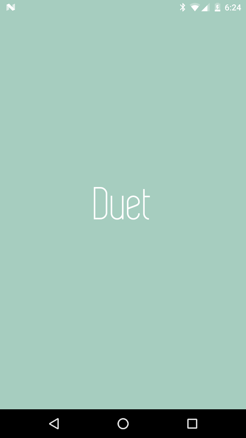Duet App- screenshot