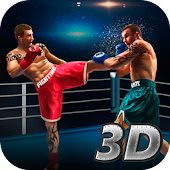 Thai Box Fighting Tiger 3D