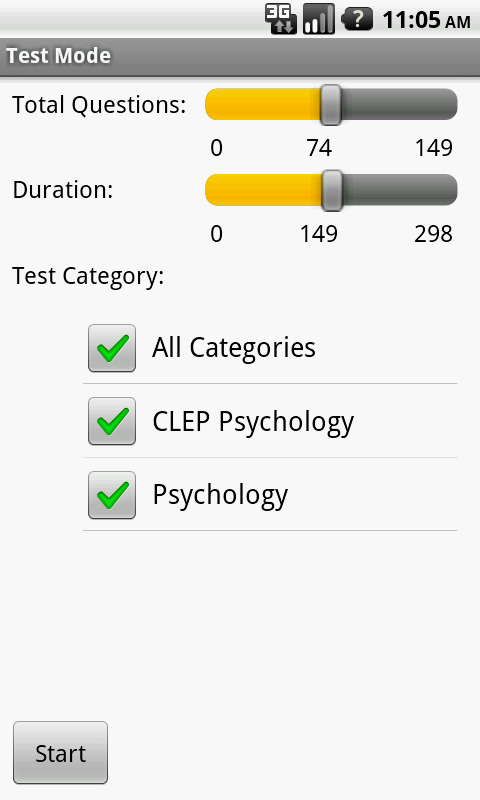 CLEP Psychology Exam Prep- screenshot