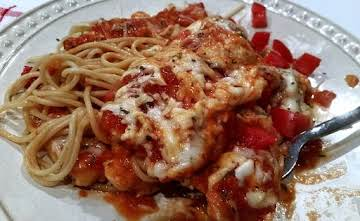 ~ Cheesy Stove Top Chicken Parmesan ~ Cassies