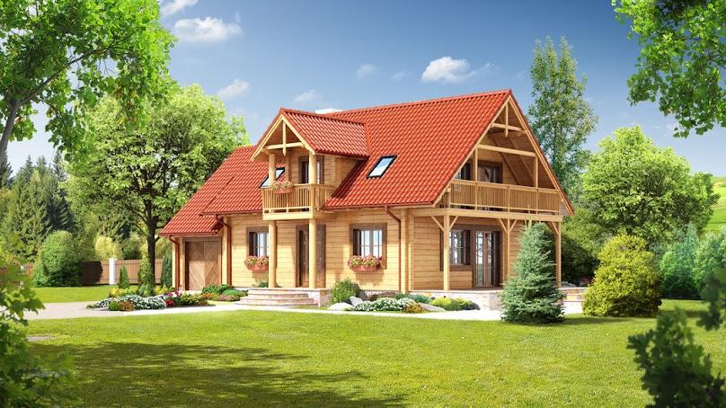 Projekt domu Milicz dw