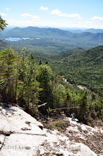 Photo: Stunning view from the top with Elk Lake in the background.