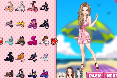 Fashion Girl Summer Dress screenshot 4