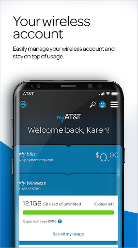 myAT&T screenshot