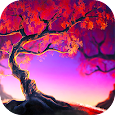 Woody Land : Tree live wallpaper Parallax 3D free