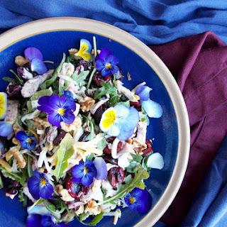Cherry Chicken Smoked Mozzarella Salad