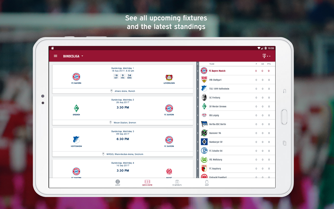 fc bayern munich android apps on google play. Black Bedroom Furniture Sets. Home Design Ideas