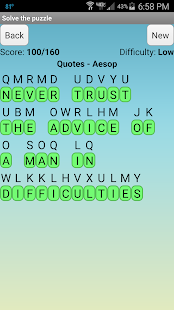 Cryptogram Puzzles- screenshot thumbnail