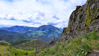 Photo: Highwood Baldy in the distance