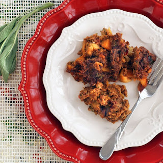 Spicy Chorizo, Butternut Squash & Apple Stuffing