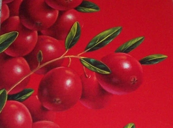 Cranberry Spread Recipe