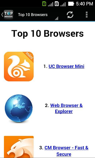 30+ Browsers