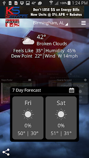 WIAT Weather- screenshot thumbnail
