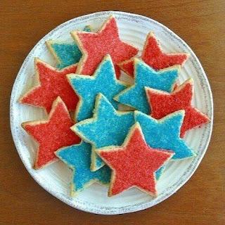 Stars Shortbread Cookies.