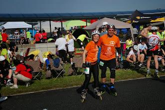 Photo: Le Duo de la Rando Sportive juste avant le départ