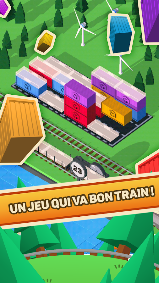 Goods Train Fever- screenshot