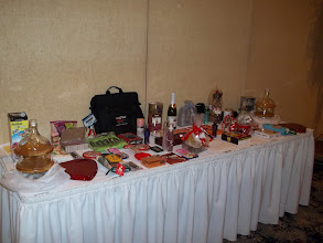 Photo: Lots of Door Prizes. 2012 Banquet