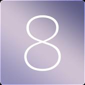 카카오톡테마 - 심플, iOS8B
