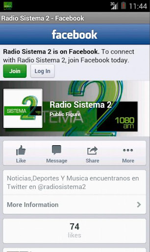 Radio Sistema 2 screenshot 3