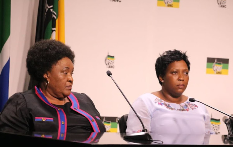 The two premier elects' Sisi Ntombela and Refilwe Mtshweni.