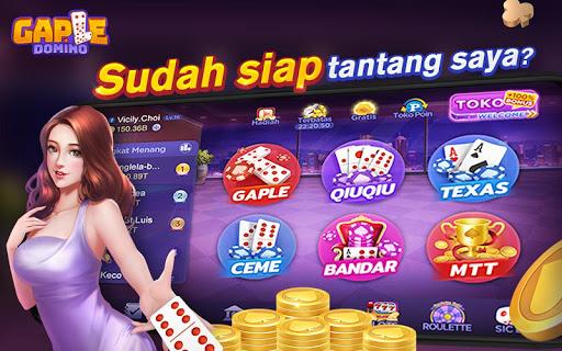 Domino Gaple Online(Free) APK + MOD (Unlimited Money) 2.15 ...
