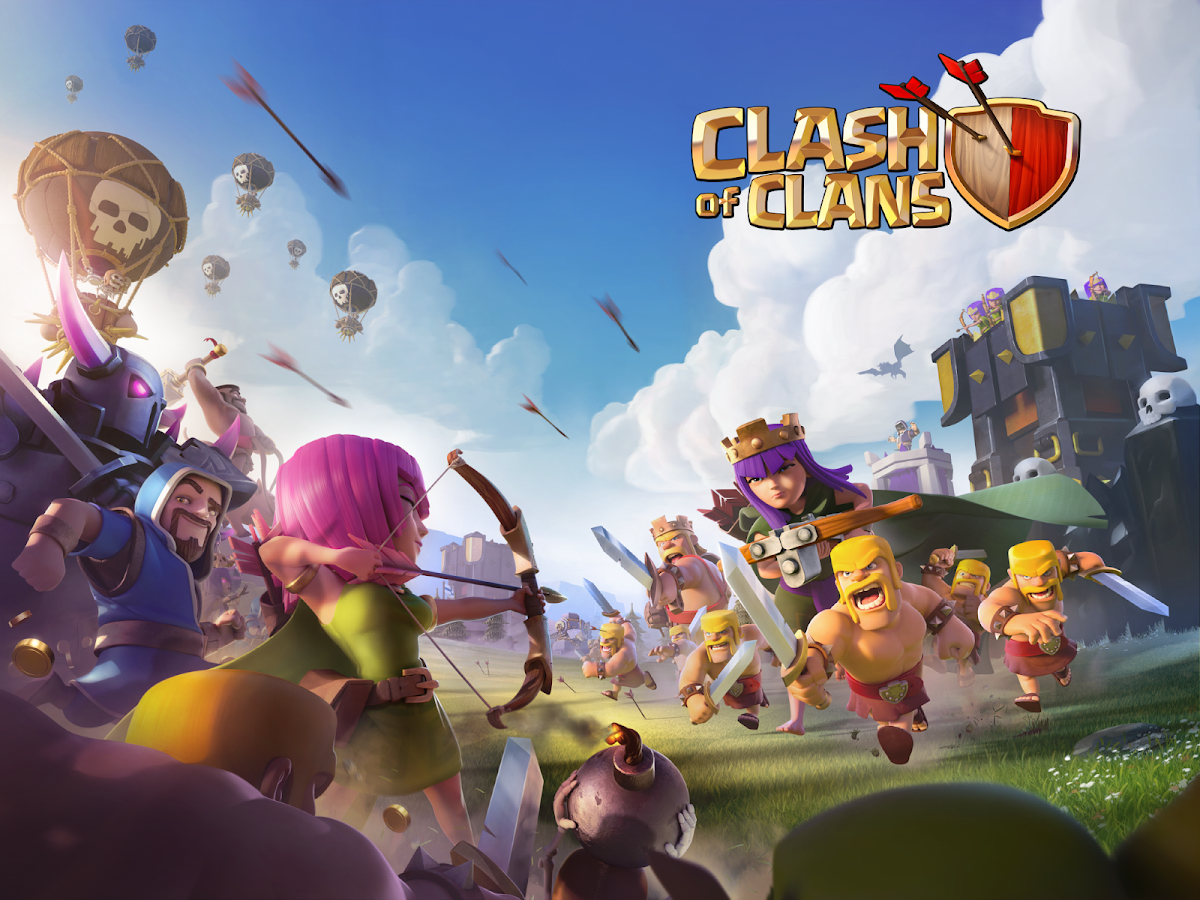 image de clash of clans