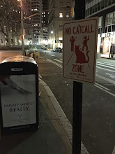 Photo: 4.15.15 NYC no catcalling sign. By Feminist Apparel and Pussy Division