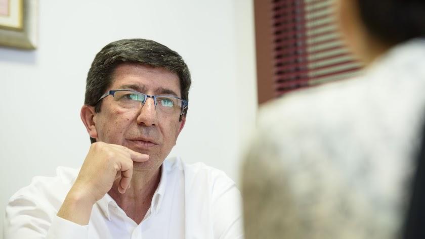 Juan Marín, líder de Cs Andalucía