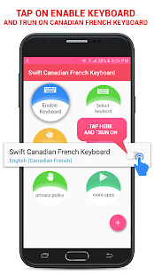 Swift Canadian French Keyboard - náhled