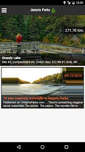 Ontario Parks - náhled
