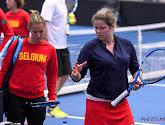 Belgisch Fed Cup-team blij met ervaring die Kim Clijsters kan delen op training