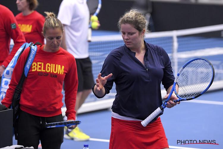 """Iedereen in Belgisch kamp verheugd over aanwezigheid Clijsters: """"Een win-win"""" en """"Ze was mijn houvast"""""""