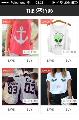 THE YUB - Fashion Shopping