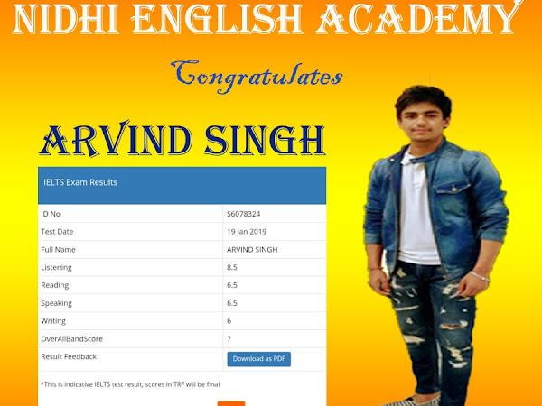 Nidhi English Academy - IELTS, PTE & spoken english coaching