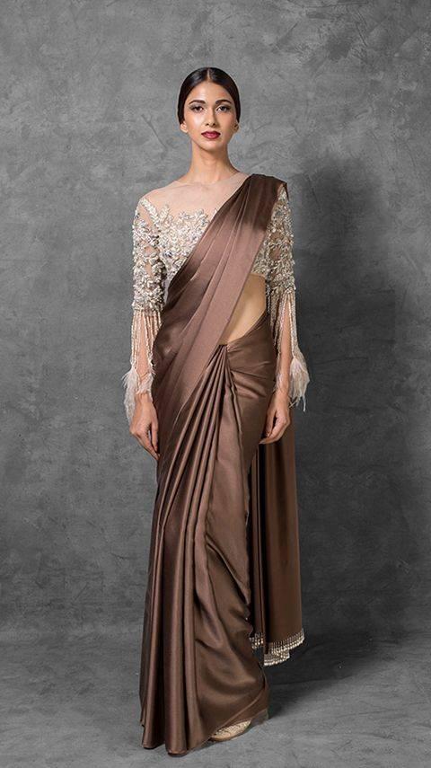 best-wedding-sarees-india-mettalic-beauty-image